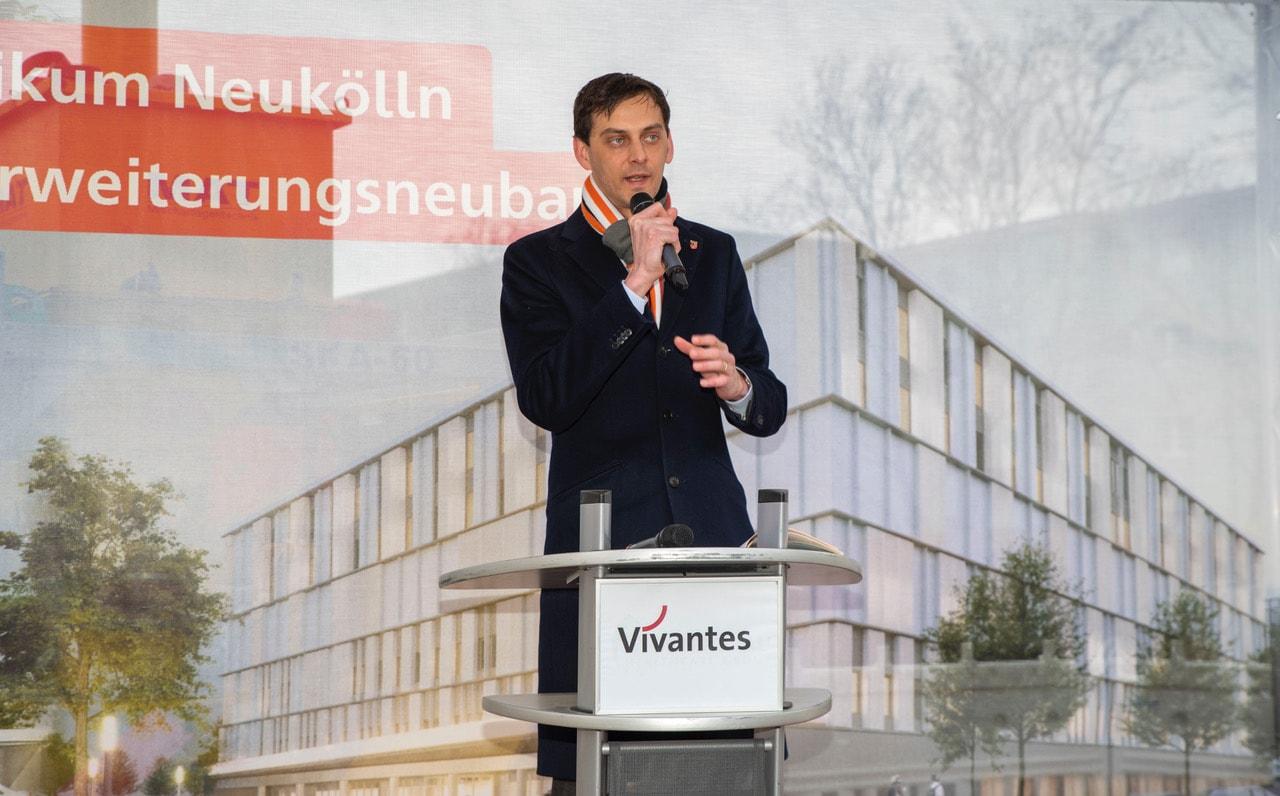 Spatenstich für größtes Bauvorhaben von Vivantes am Klinikum Neukölln 7