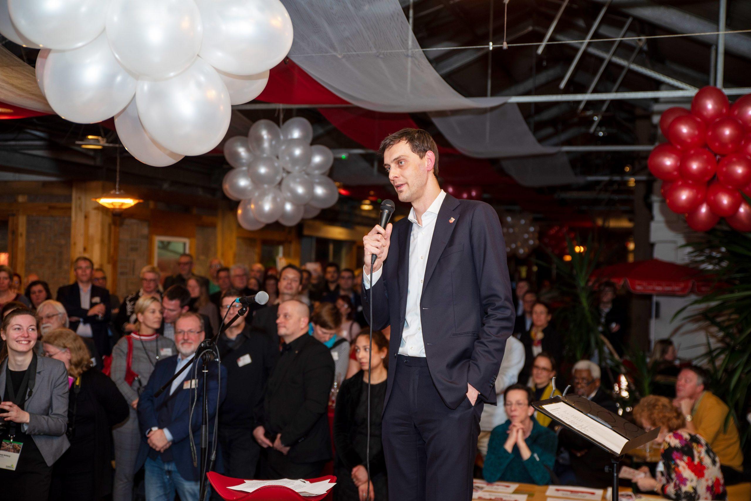 Hunderte Gäste folgten der Einladung zum Jahresempfang der Neuköllner SPD- Fraktion 1