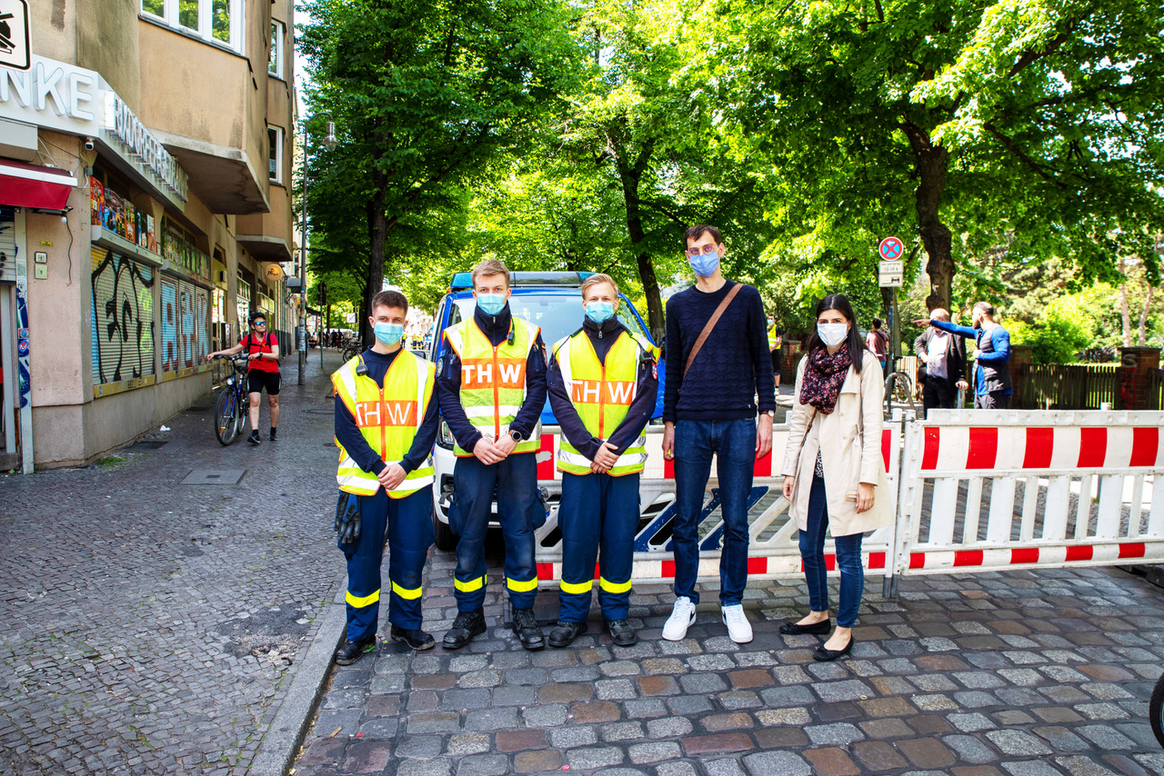 Pilotprojekt: Drei neue Spielstraßen in Neukölln 1