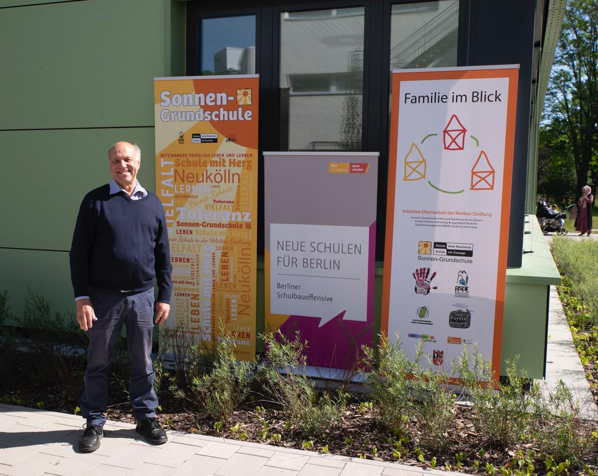 Modularer Ergänzungsbau an der Sonnen-Grundschule eingeweiht 2