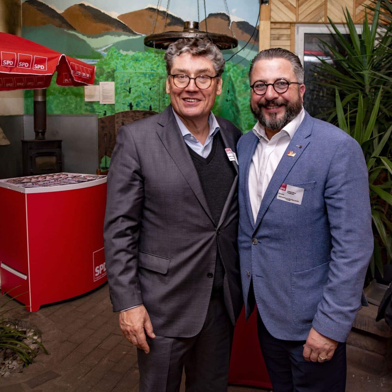 Hunderte Gäste folgten der Einladung zum Jahresempfang der Neuköllner SPD- Fraktion 15