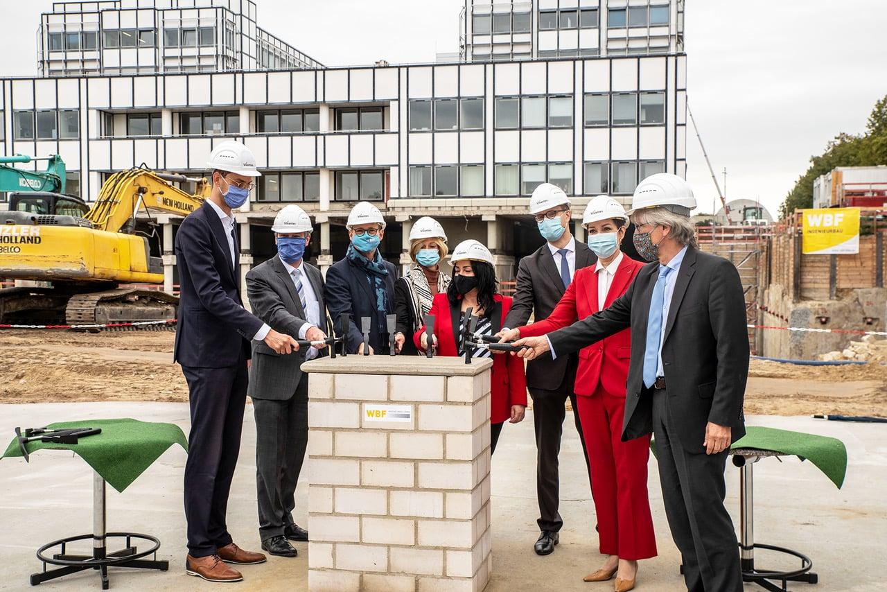 Grundsteinlegung für den Nordkopf am Vivantes Klinikum Neukölln 8