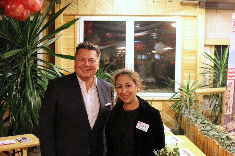 Hunderte Gäste folgten der Einladung zum Jahresempfang der Neuköllner SPD- Fraktion 10