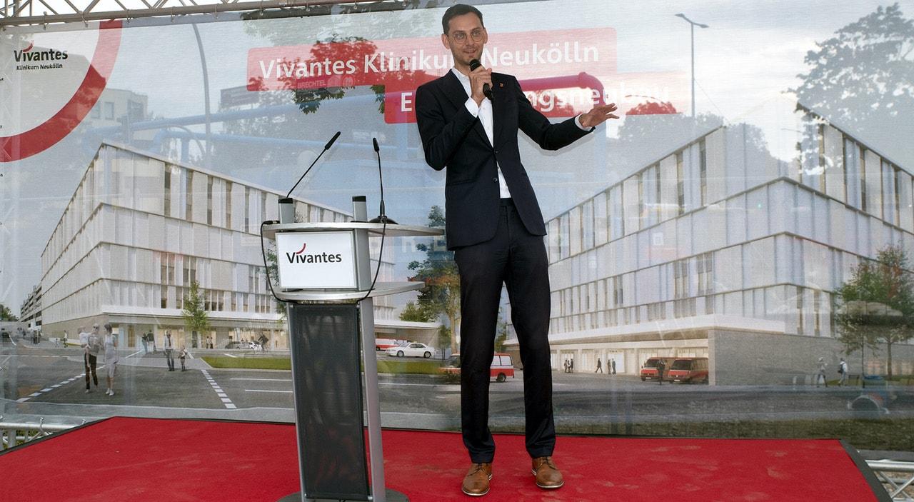 Grundsteinlegung für den Nordkopf am Vivantes Klinikum Neukölln 7