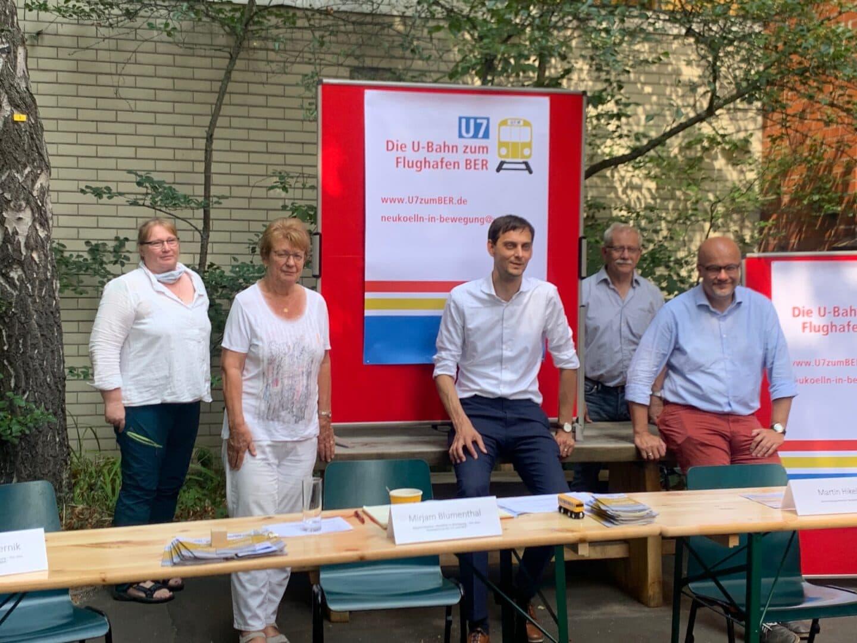 Bürger*innen-Initiative für die Verlängerung der U7 zum BER 10
