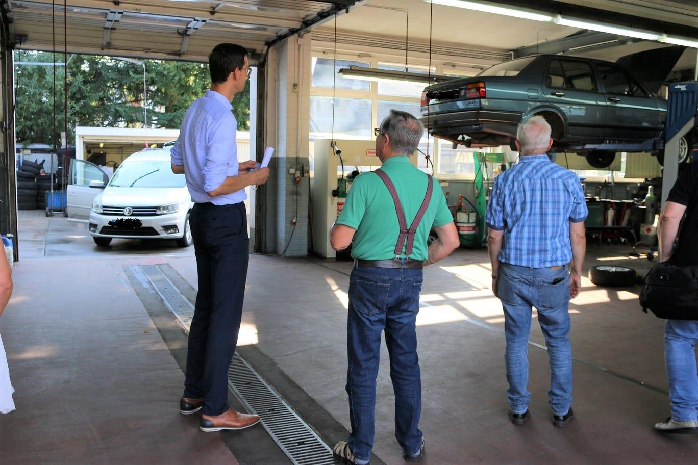 Neukölln in Bewegung – Für eine Verlängerung der U7 zum BER: Spaziergang mit Bezirksbürgermeister Martin Hikel 6