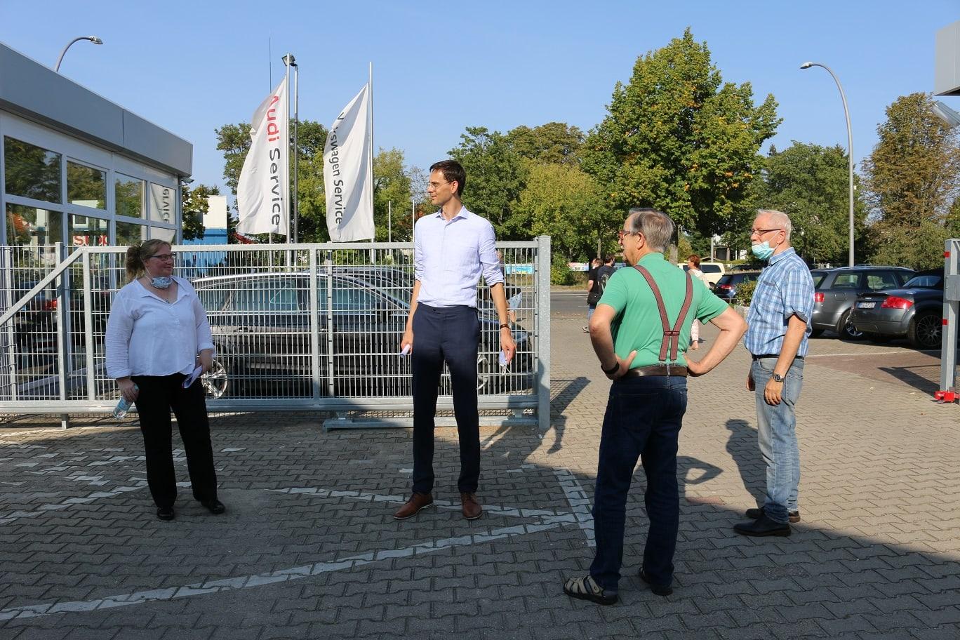 Neukölln in Bewegung – Für eine Verlängerung der U7 zum BER: Spaziergang mit Bezirksbürgermeister Martin Hikel 1