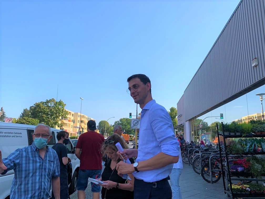 Neukölln in Bewegung – Für eine Verlängerung der U7 zum BER: Spaziergang mit Bezirksbürgermeister Martin Hikel 2