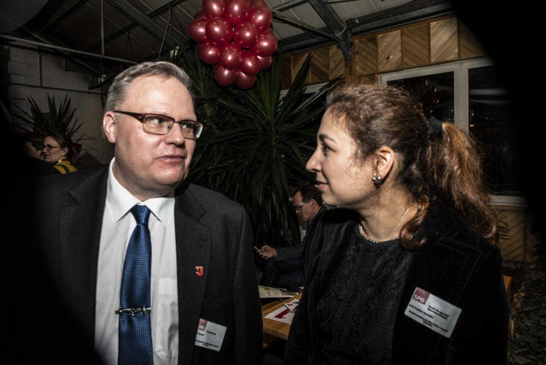 Hunderte Gäste folgten der Einladung zum Jahresempfang der Neuköllner SPD- Fraktion 14