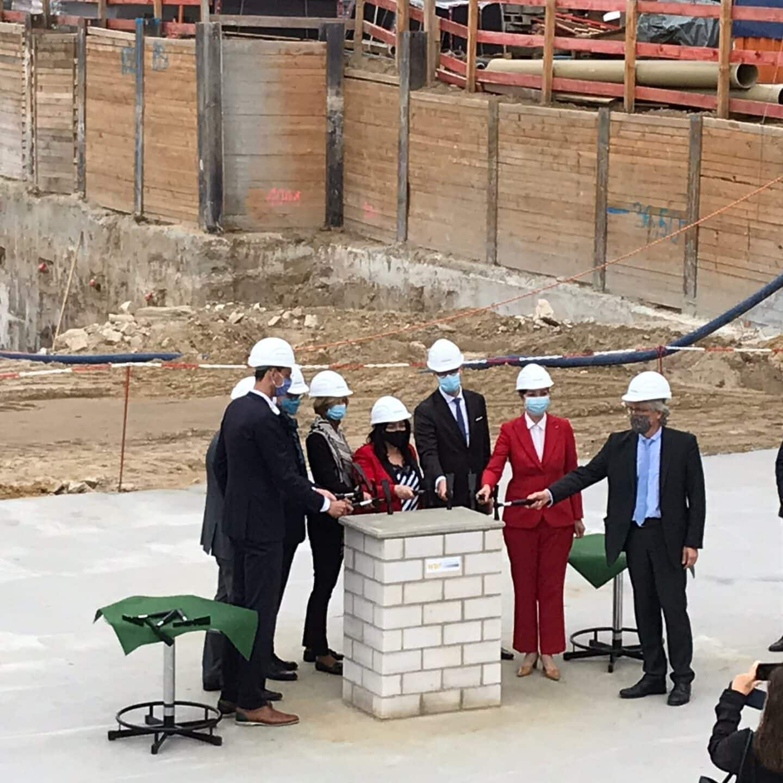 Grundstein für Vivantes-Neubau gelegt 2