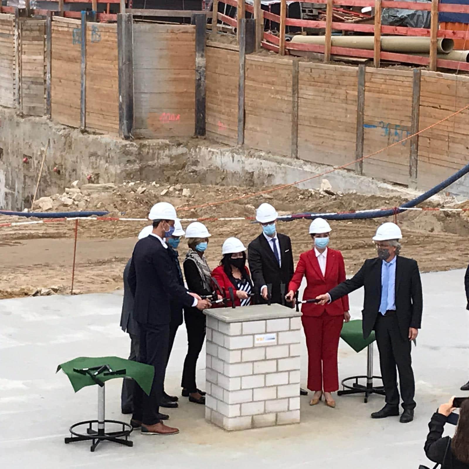 Grundstein für Vivantes-Neubau gelegt 1