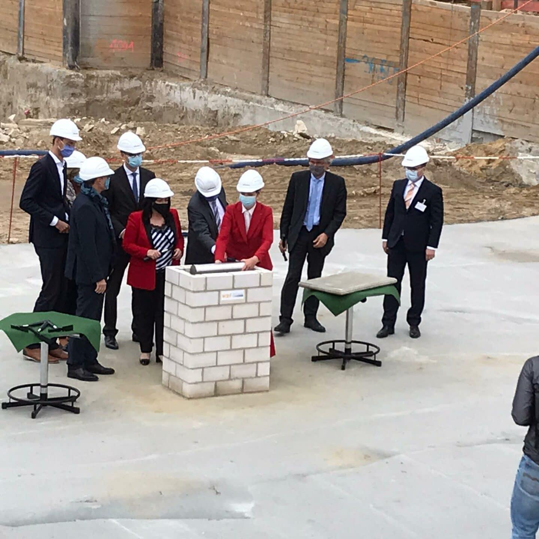 Grundstein für Vivantes-Neubau gelegt 3
