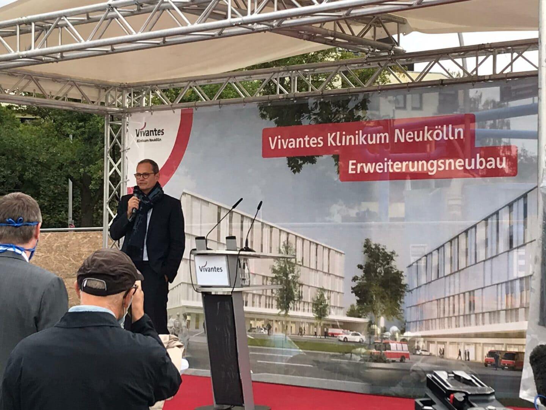 Grundsteinlegung für den Nordkopf am Vivantes Klinikum Neukölln 5