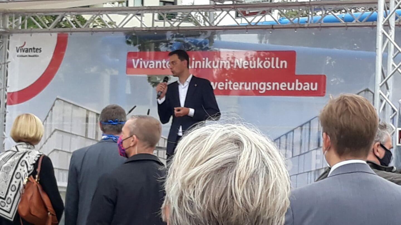 Grundstein für Vivantes-Neubau gelegt 5