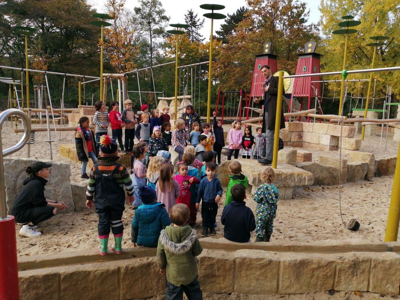 Spielplatz an der Thomashöhe neu gestaltet 2