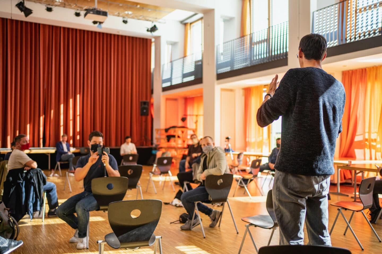 Mitgliederforum: Hakan Demir und Tim Renner stellen sich den Fragen 1