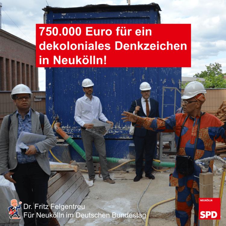 """Bund unterstützt """"Berlin Global Village"""" bei der Errichtung eines dekolonialen Denkzeichens mit 750.000 Euro 1"""
