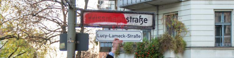 Wissmannstraße wird zur Lucy-Lameck-Straße 2