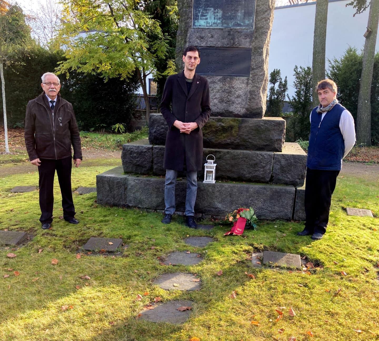 Gedenken der Opfer von Krieg und Gewaltherrschaft 1