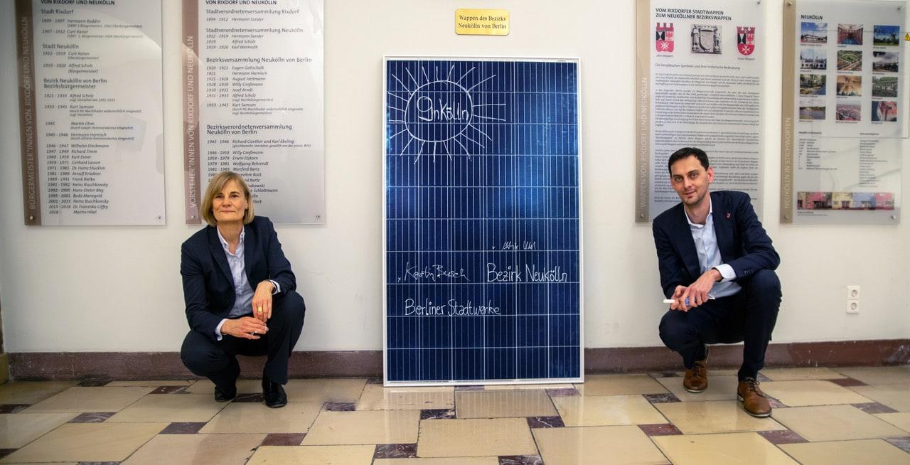 Solarstromanlagen für Neuköllner Schulen – Klimapolitik, die sich rechnet 1