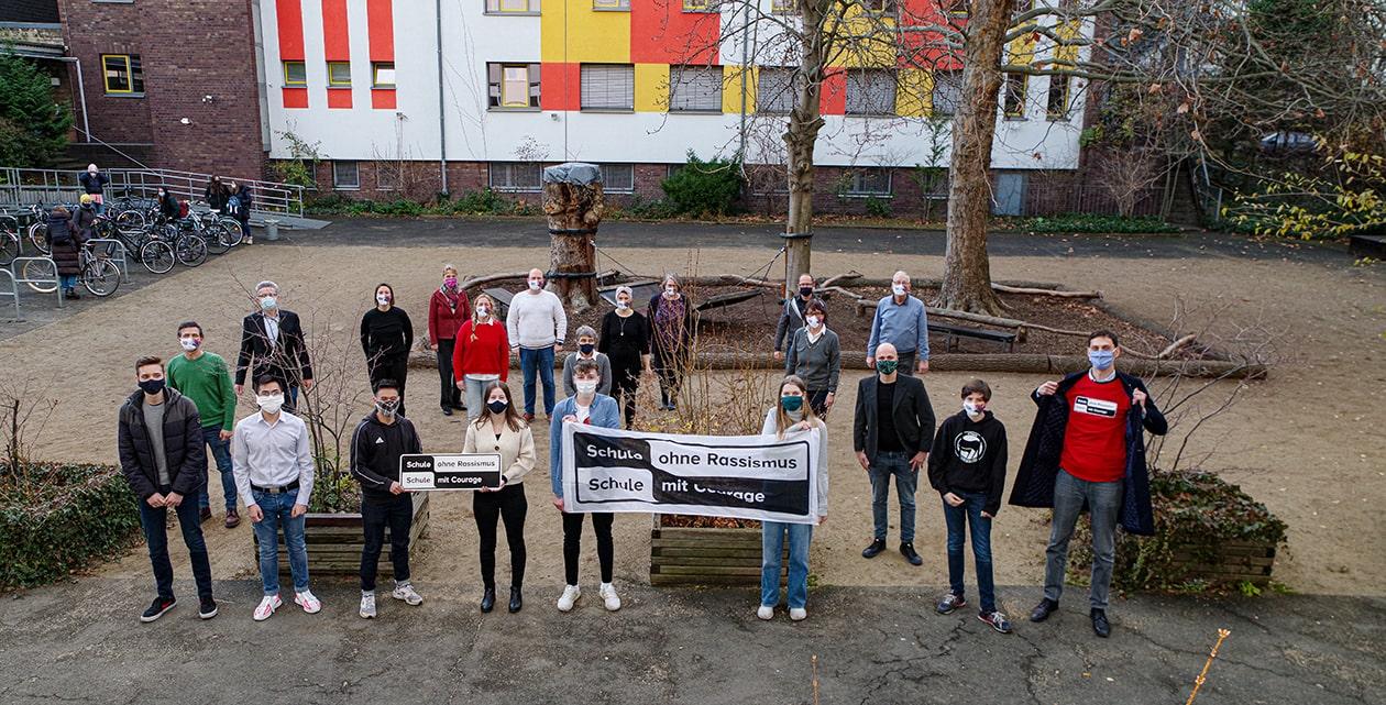 """Katholische Schule St. Marien ist """"Schule ohne Rassismus – Schule mit Courage"""" 1"""