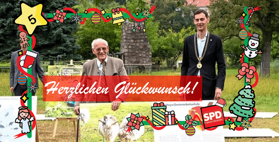 Neuköllner Adventskalender - Türchen Nr. 5 1