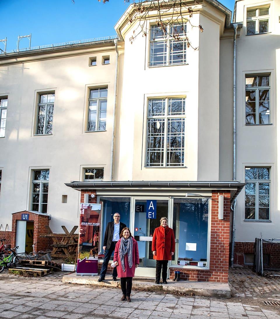 Berliner Schulbauoffensive schreitet voran 1