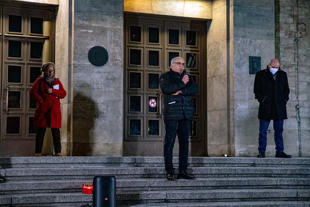 Gegen das Vergessen - Neukölln gedenkt der Opfer der rassistischen Morde von Hanau 4