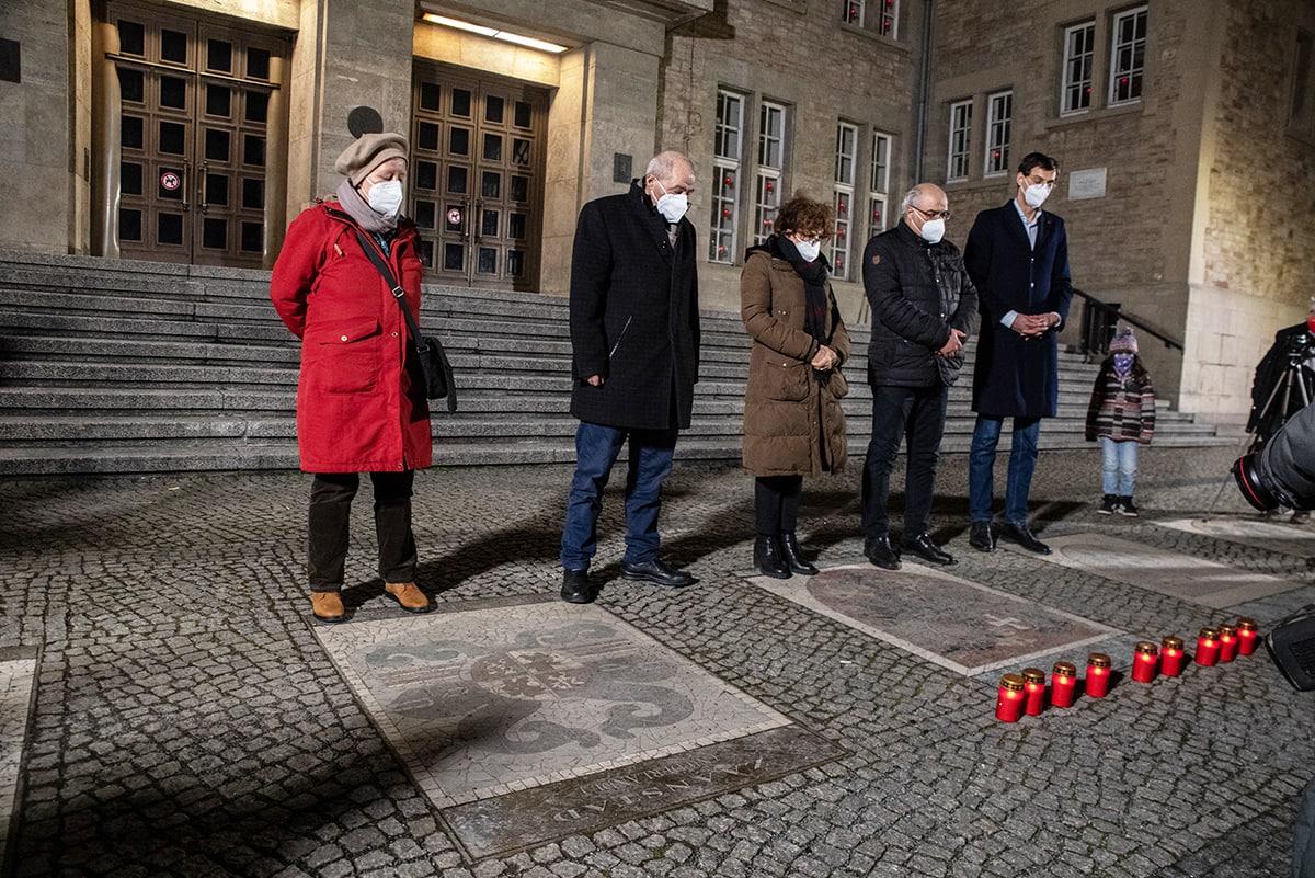 Gegen das Vergessen - Neukölln gedenkt der Opfer der rassistischen Morde von Hanau 1