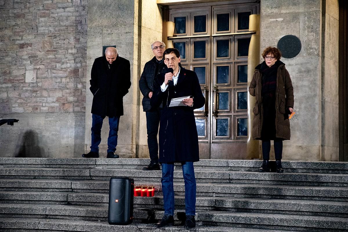 Gegen das Vergessen - Neukölln gedenkt der Opfer der rassistischen Morde von Hanau 5
