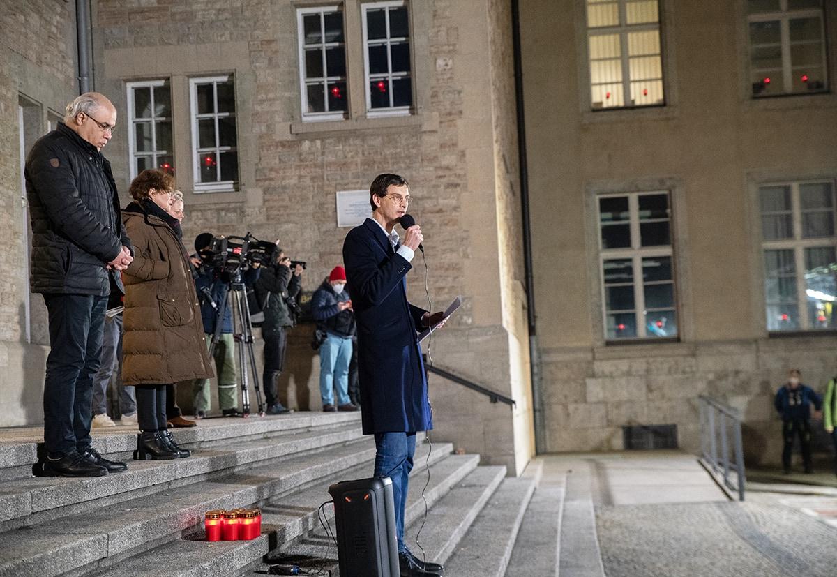 Gegen das Vergessen - Neukölln gedenkt der Opfer der rassistischen Morde von Hanau 6