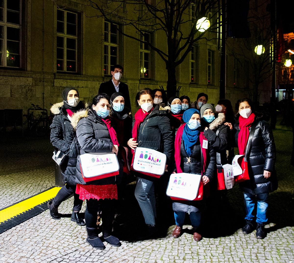 Gegen das Vergessen - Neukölln gedenkt der Opfer der rassistischen Morde von Hanau 10