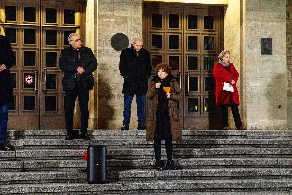 Gegen das Vergessen - Neukölln gedenkt der Opfer der rassistischen Morde von Hanau 8