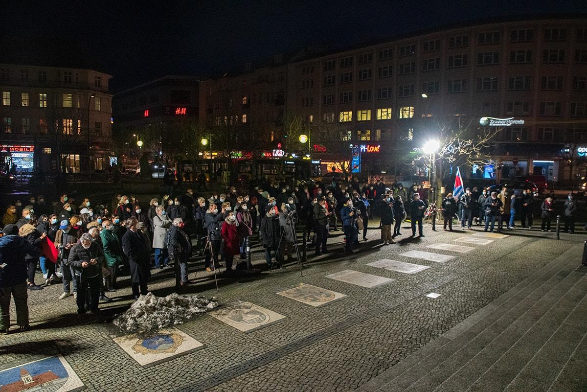 Gegen das Vergessen - Neukölln gedenkt der Opfer der rassistischen Morde von Hanau 11