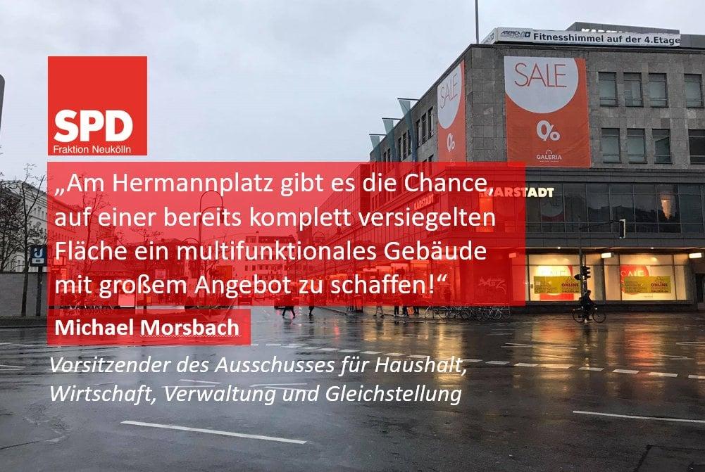 Zukunft des Hermannplatzes transparent und ergebnisoffen gestalten 1