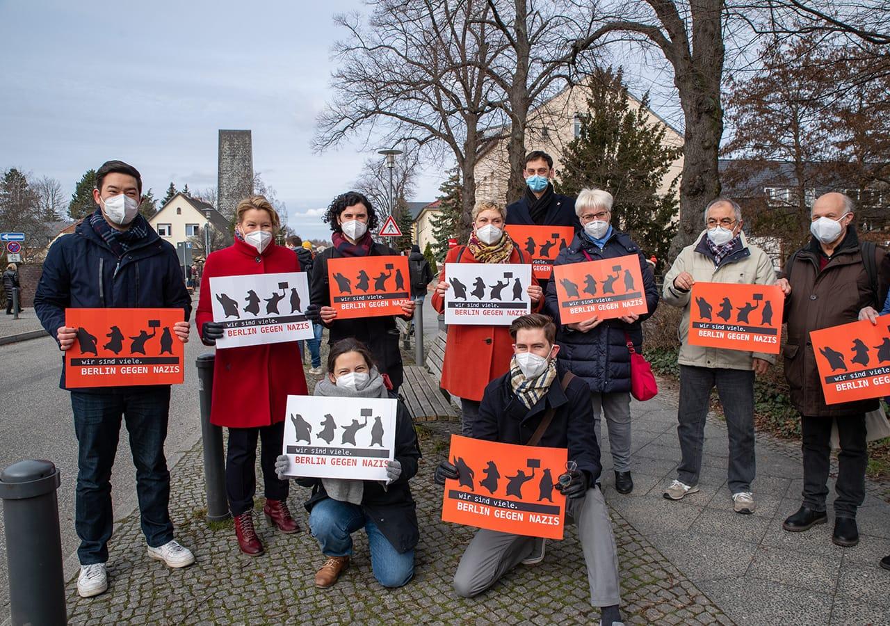 Rudow: Menschenkette für 100% Menschenwürde – gemeinsam gegen Rassismus 1