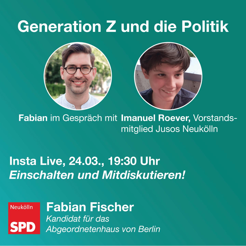 Insta-Live von Fabian Fischer mit Imanuel Roever 1