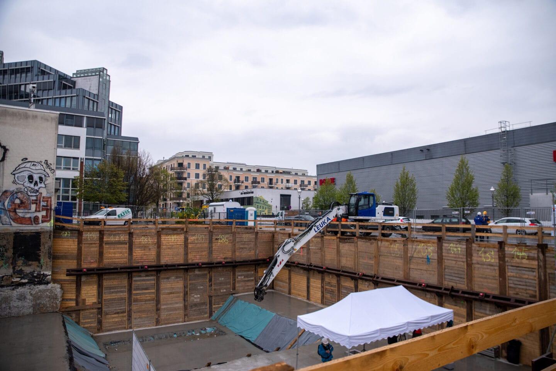 Grundsteinlegung für neues Umspannwerk Rollberg in Neukölln 3