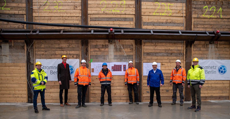 Grundsteinlegung für neues Umspannwerk Rollberg in Neukölln 2