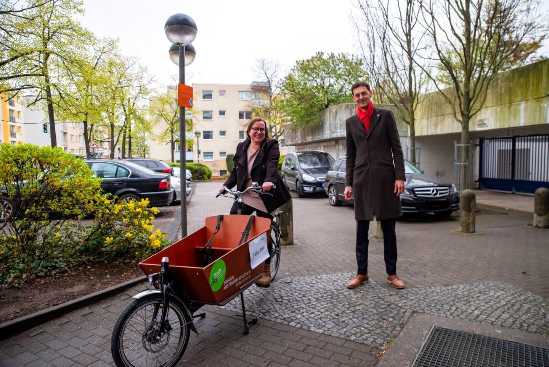 """""""Junge fLotte kommunal"""" – noch mehr Lastenfahrräder für den Bezirk 1"""