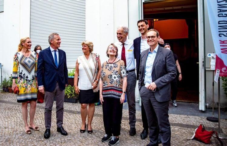 Neuköllner Leuchttürme - Das Deutsche Chorzentrum in der Karl-Marx-Straße wurde feierlich eröffnet 7