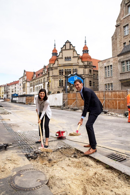 Umbau der Karl-Marx-Straße - Bauphase zwischen Erk- und Flughafenstraße startet 1
