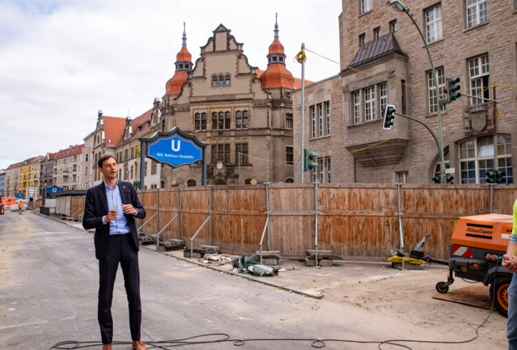 Umbau der Karl-Marx-Straße - Bauphase zwischen Erk- und Flughafenstraße startet 3