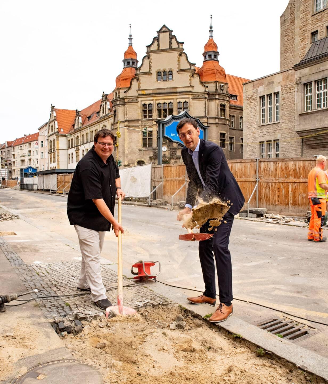 Umbau der Karl-Marx-Straße - Bauphase zwischen Erk- und Flughafenstraße startet 2