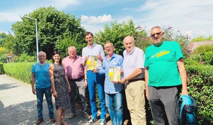 Neuer Wegweiser für Bauen in Kleingartenanlagen übergeben 2