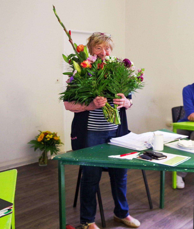 Eva Marie-Schoenthal leitete zum letzten Mal den Sozialausschuss 2