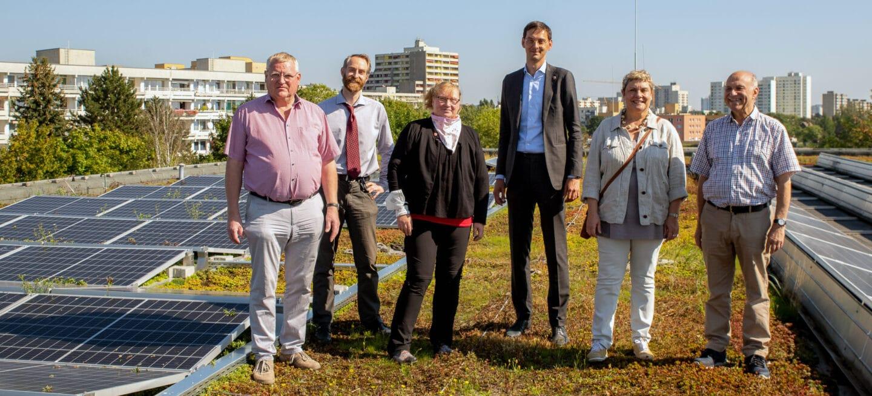 Solaranlagen der Heinrich-Mann-Schule erweitert 1