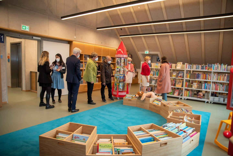 Neue Stadtteilbibliothek in Rudow eingeweiht 2